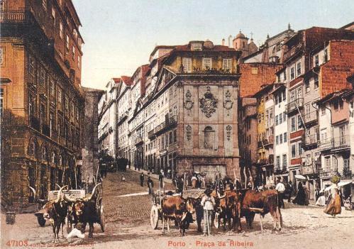 porto - praça ribeira 1911 001